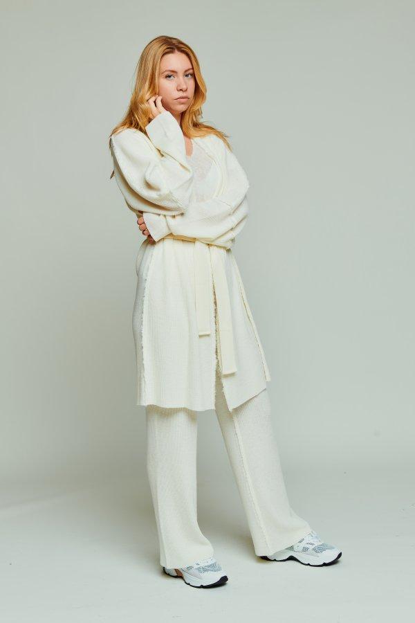 Cardigan bygja off white