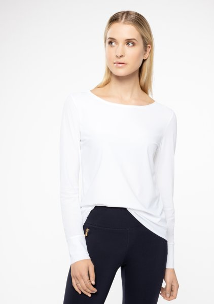 Ina Kess Alldaylong blouse feather white