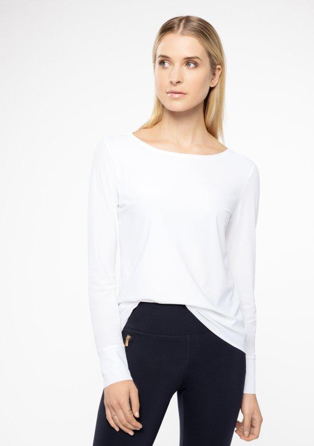 Alldaylong blouse feather white