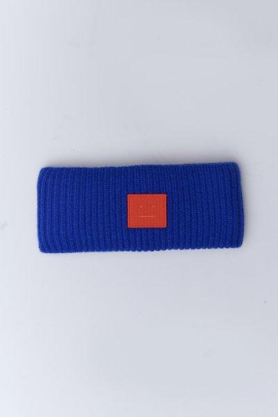 Acne Studios Stirnband blau