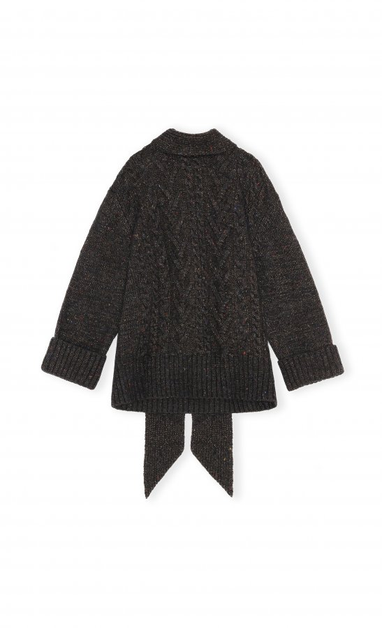 Oversized Pullover schwarz