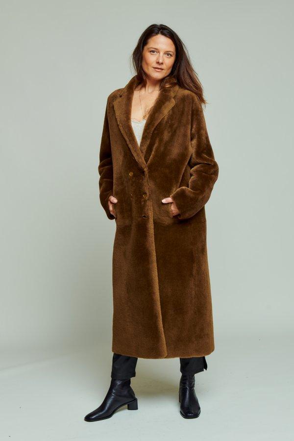 Coat festin bronze