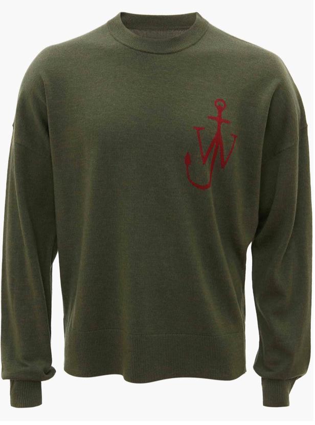 Pullover Anker grün