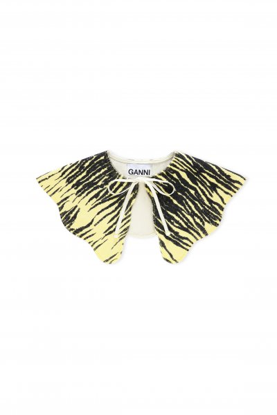 Ganni Butterfly Cape Yellow