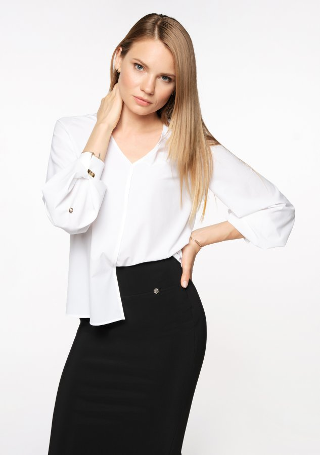 LASETA BLOUSE WHITE