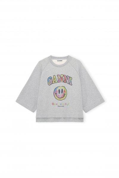 Ganni Isoli Shirt Smiley Bunt