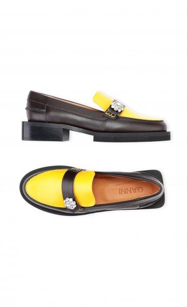Ganni Loafer gelb