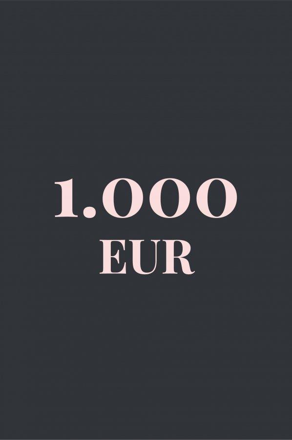 Gutschein 1000 EUR