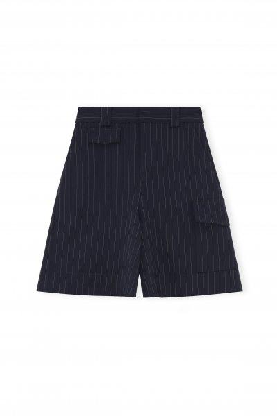 Ganni Navy Shorts