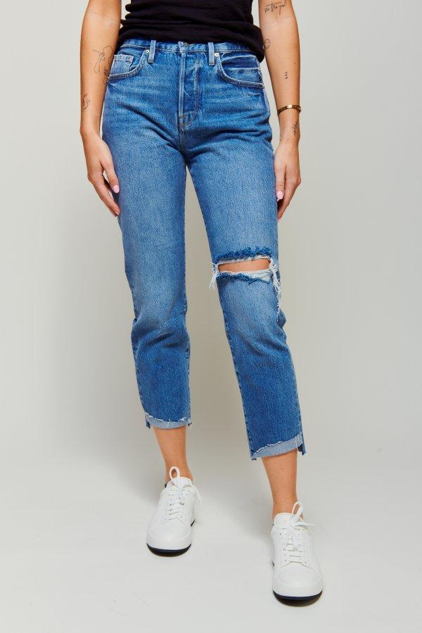 Le original front cuff Jeans