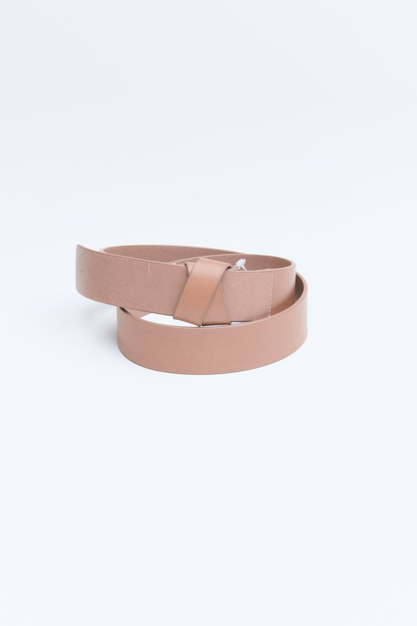 Belt Bow Taupe