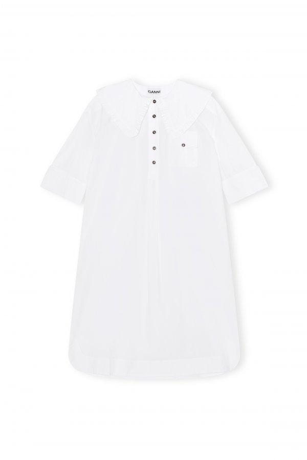 Dress oversized shirt white