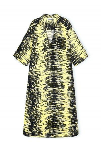 Ganni Kleid gelb