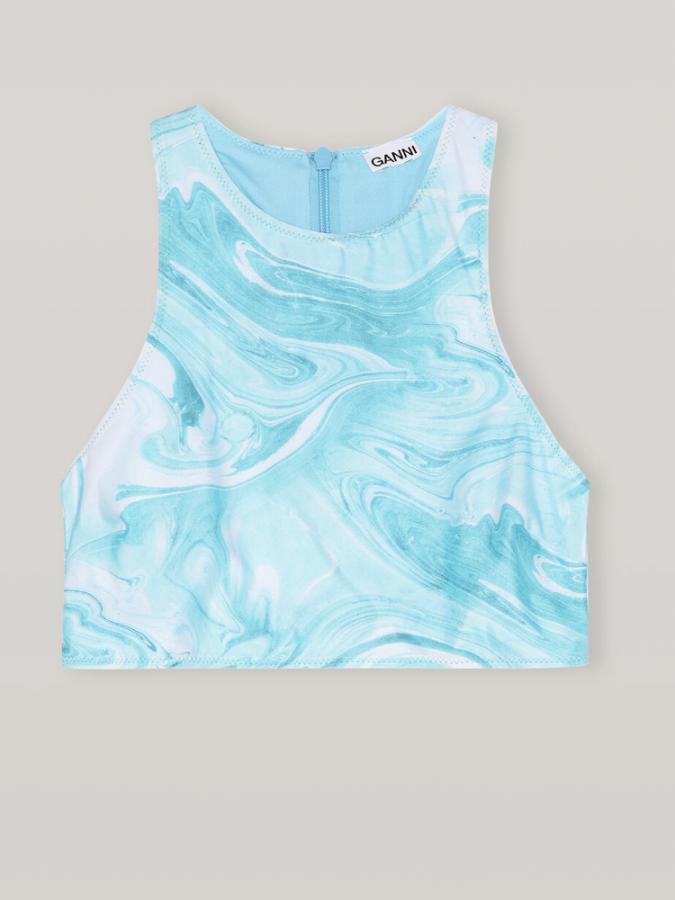 Bikinitop blue