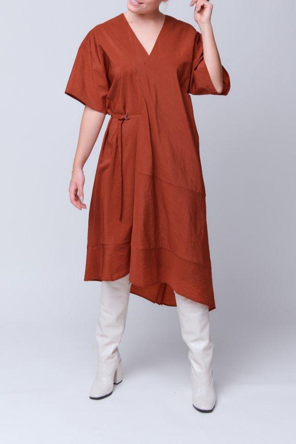 Dress Dimbani rust