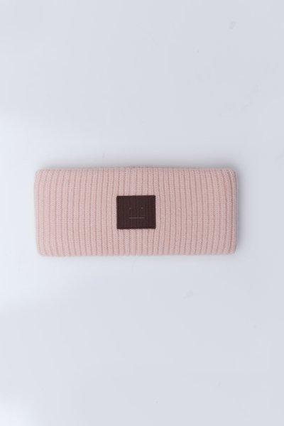 Acne Studios Stirnband rosa