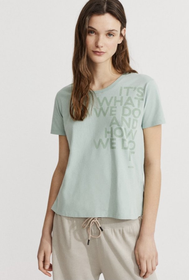 T-shirt woman blue