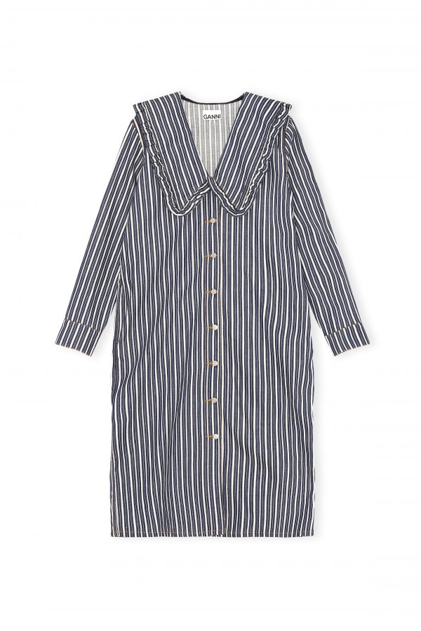 Shirt Dress Dark Indigo