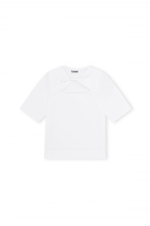 T-shirt twist white