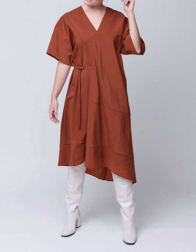 Dress Dimbani rust
