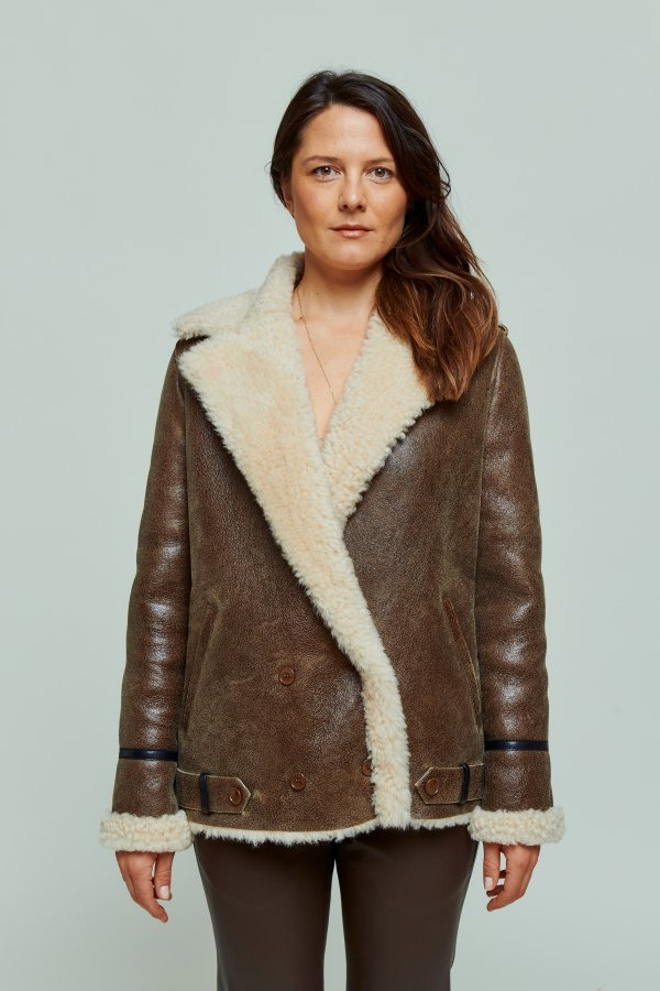 Jacket Jack marron/beige