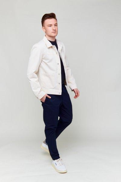 Officine Weiße Jeansjacke