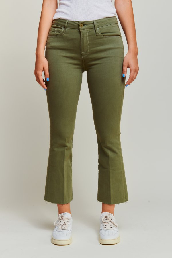 Le crop mini boot jeans