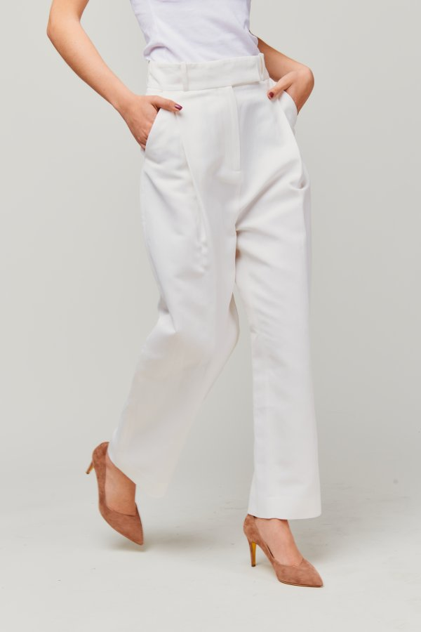 City Sport Trousers OFF white
