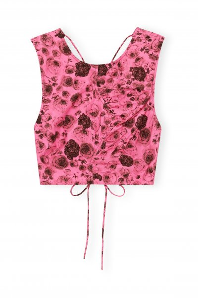Ganni Top pink