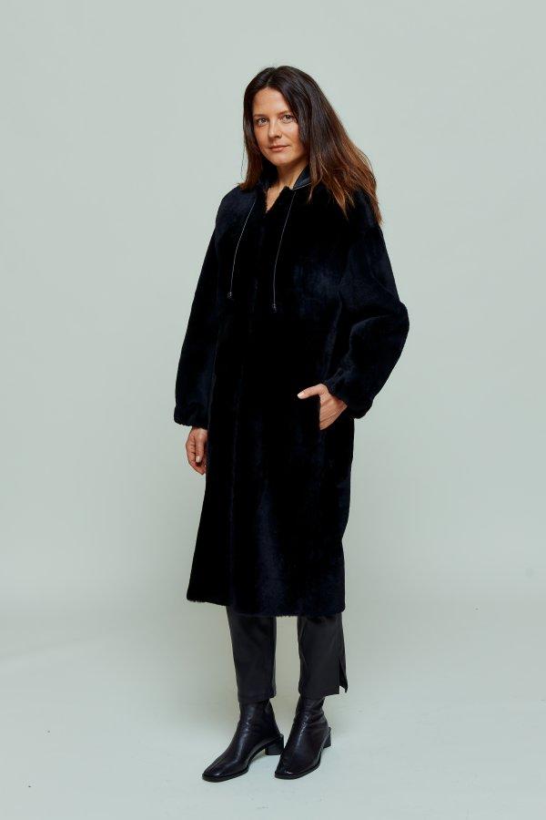 Coat Jacobin noir