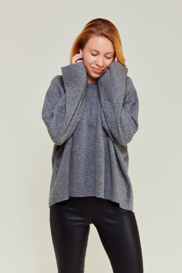 Merino Camel Knit grey