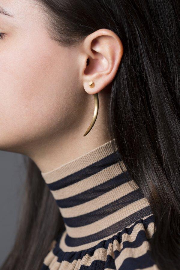 Horn Earring