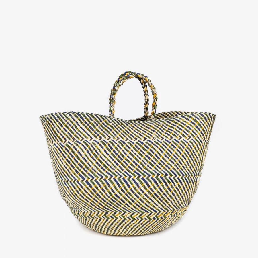 Basket orange/green