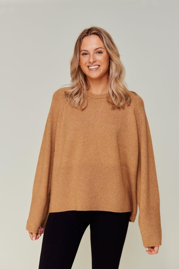 Merino Camel knit camel