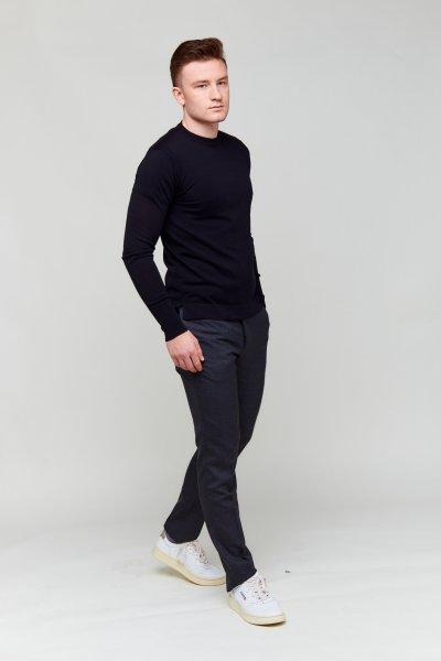 Officine Schwarzer Pullover