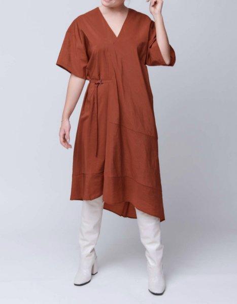 Christian Wijnants Dress Dimbani rust