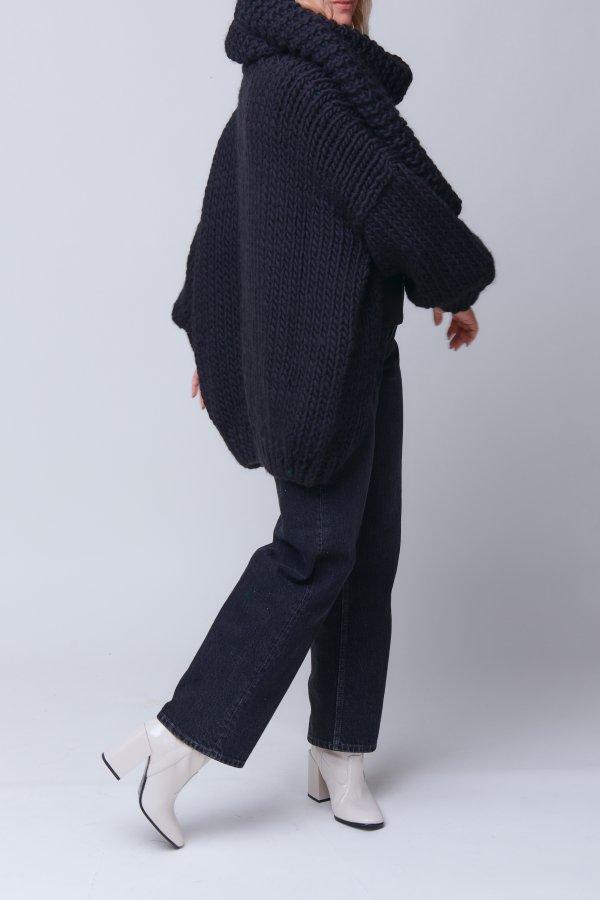 Cardigan Chunky Wool