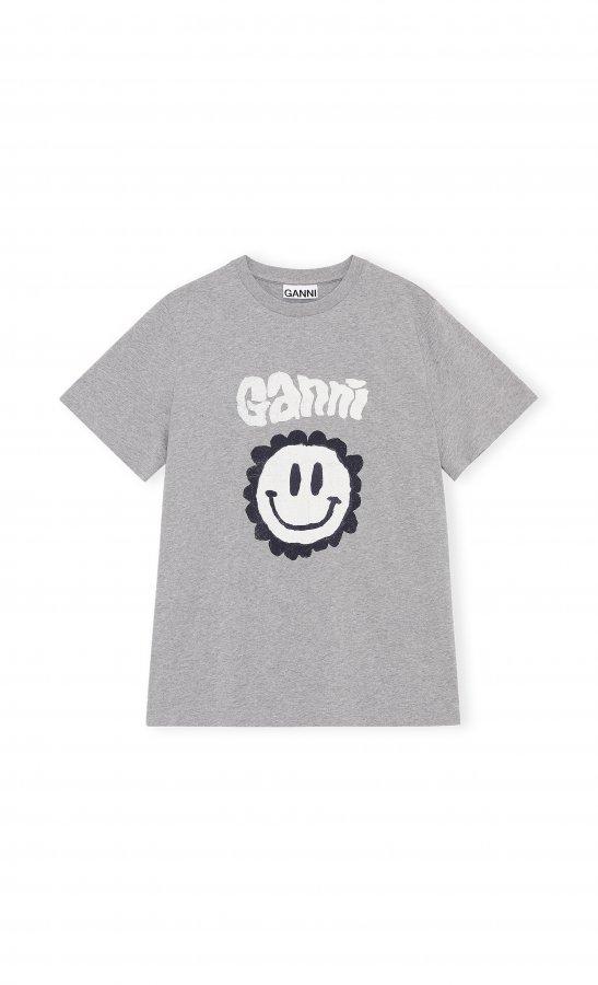 T-shirt grau Smile