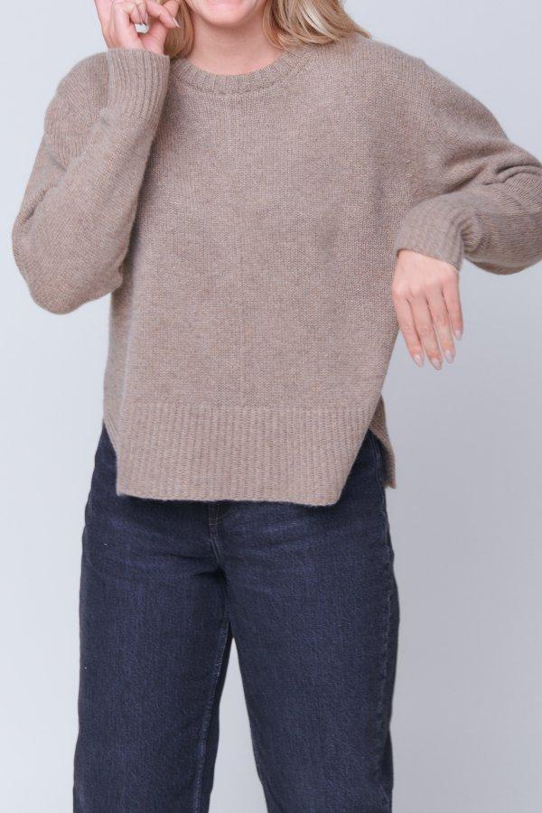 Pullover hazelnut